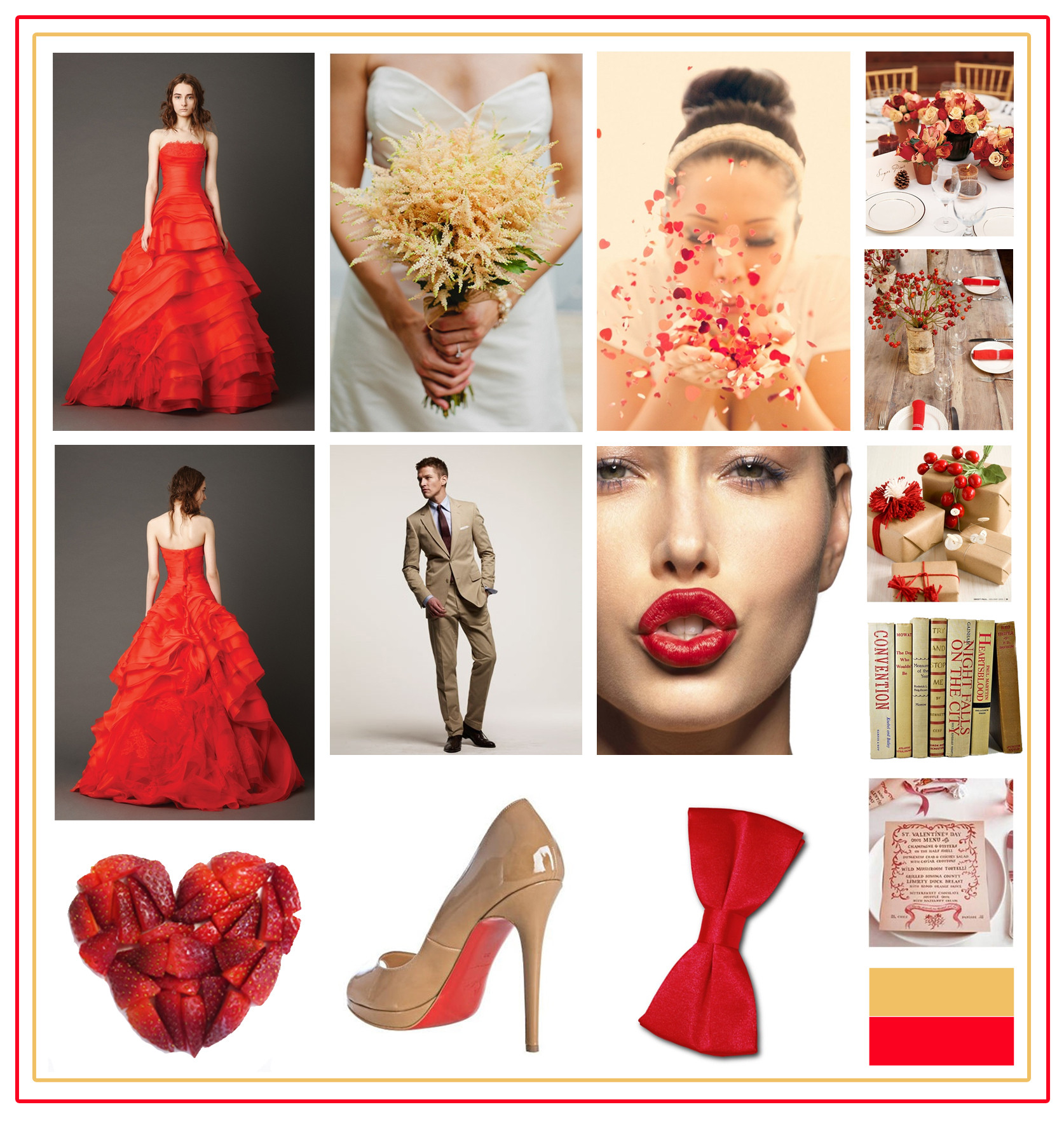 Red Wedding Designs