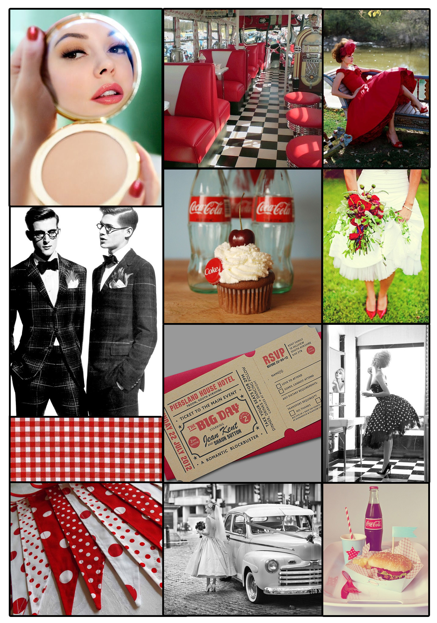 Retro Wedding Inspiration