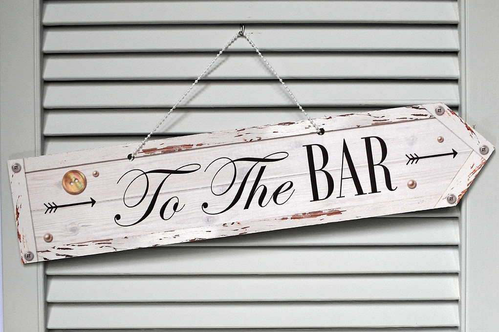 Scene Setter Dream Clean Signage £50.00 To The Bar