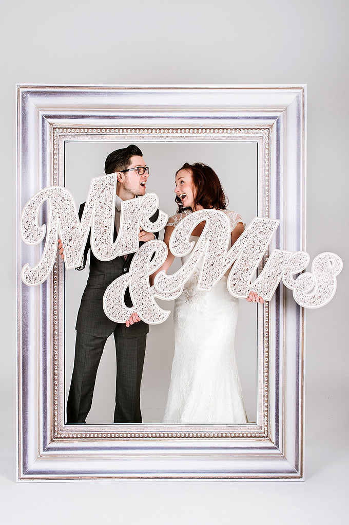 Scene Setter Mr&Mrs Sequin £60.00