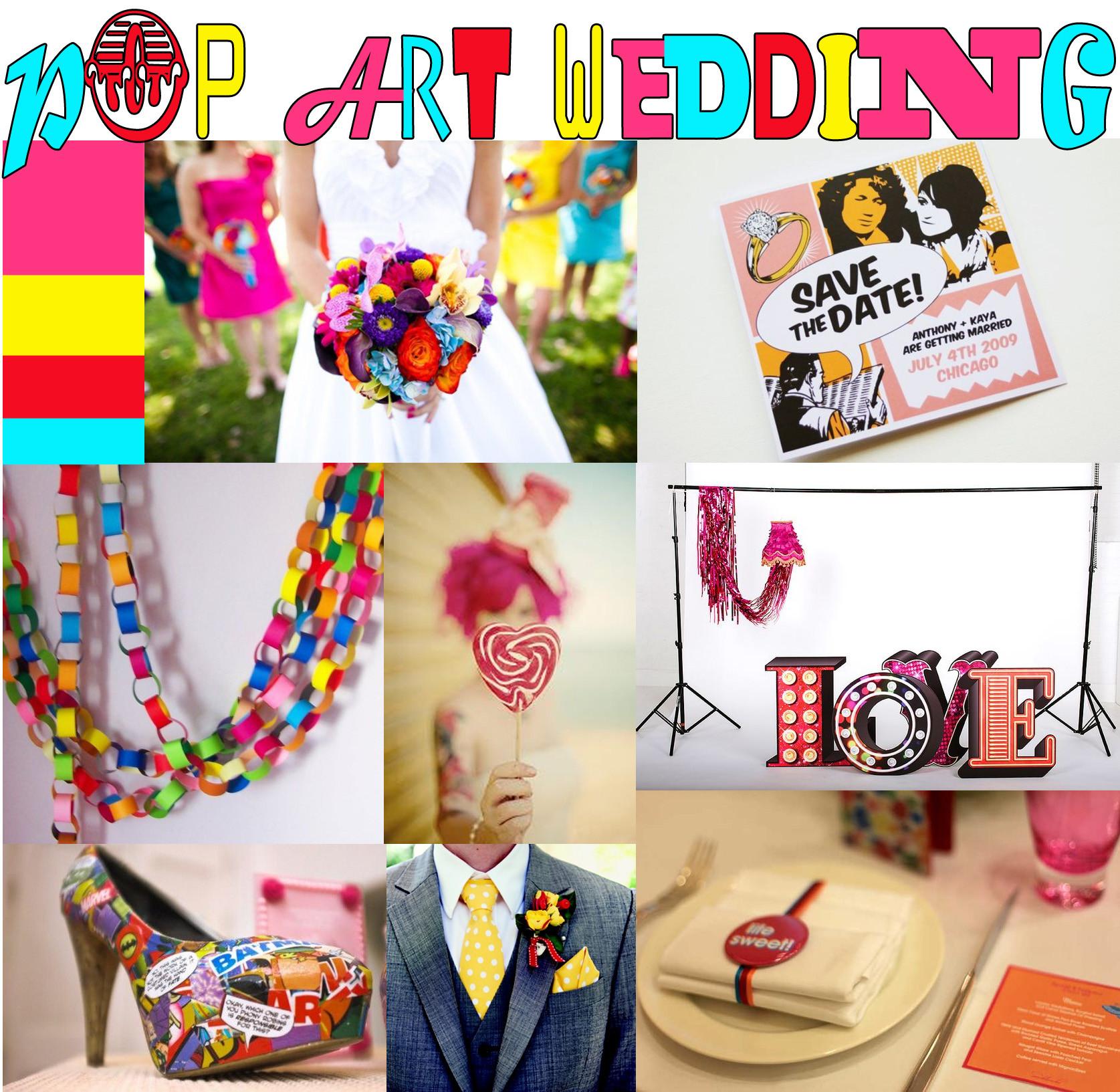 Abstract Weddings