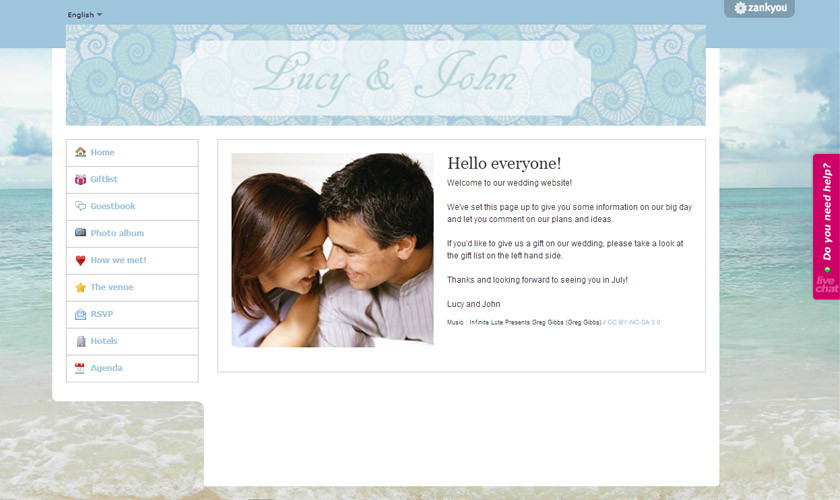 And here are some great wedding website formats and ideas that you can ...