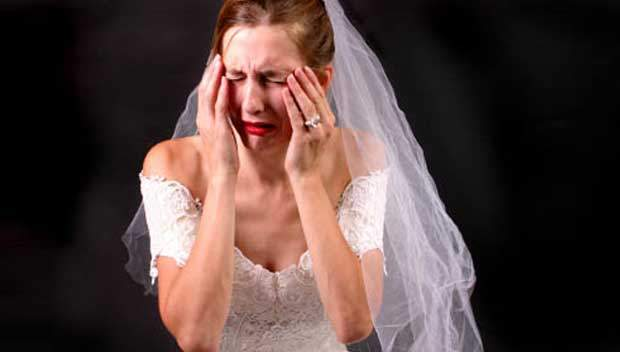 The Card Gallery - Crying Bride