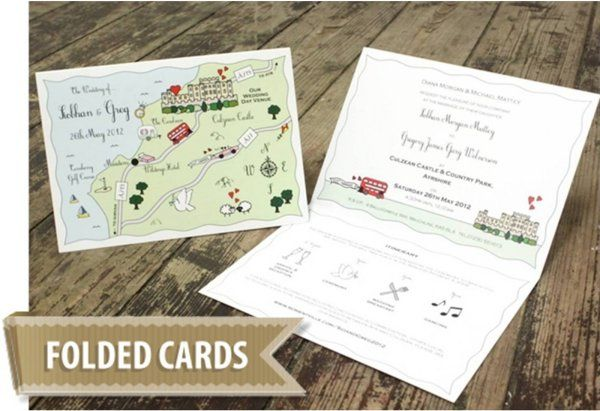 Cute Maps - Folded Cards from £200