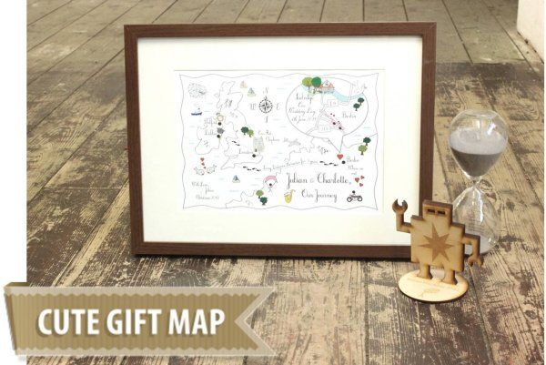 Cute Maps - Gift Map from £38