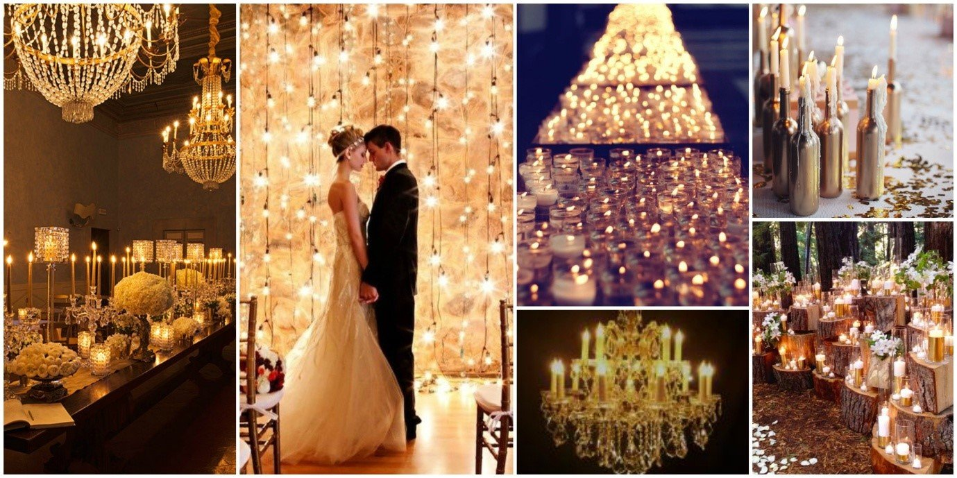 Beautiful Wedding Lighting