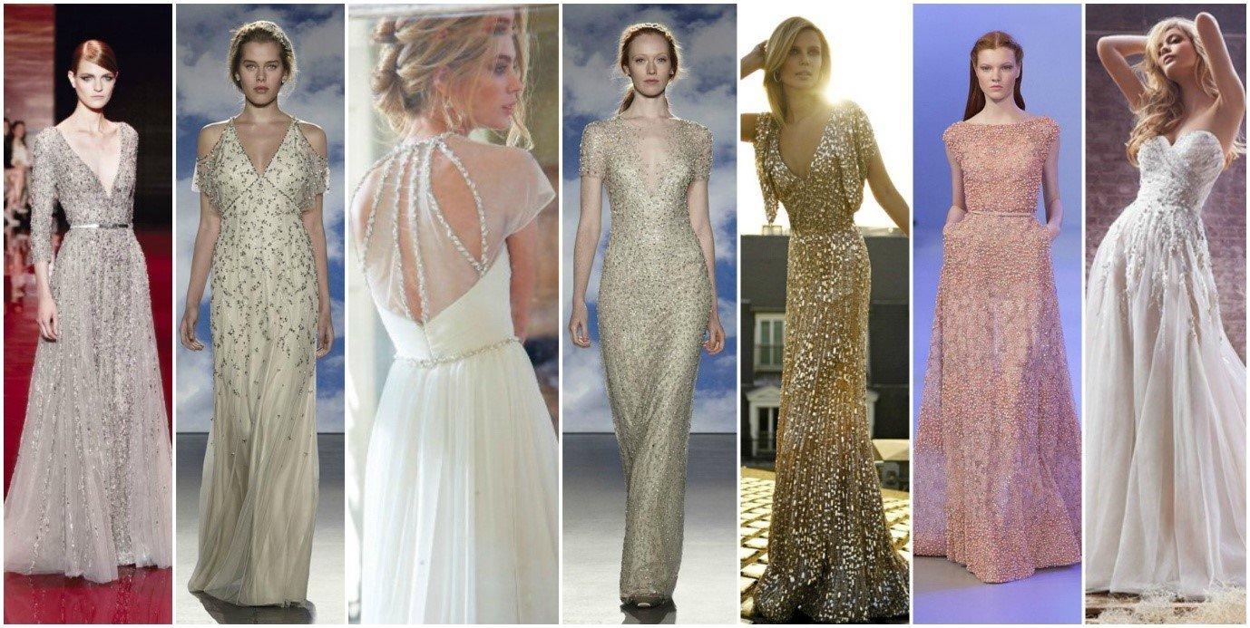 Sparkle Wedding Dresses