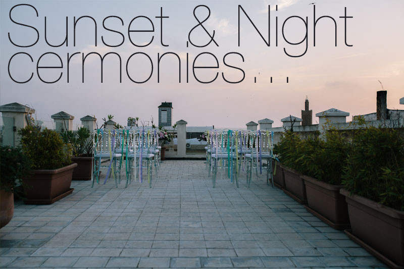 Sunset & Night Cermonies