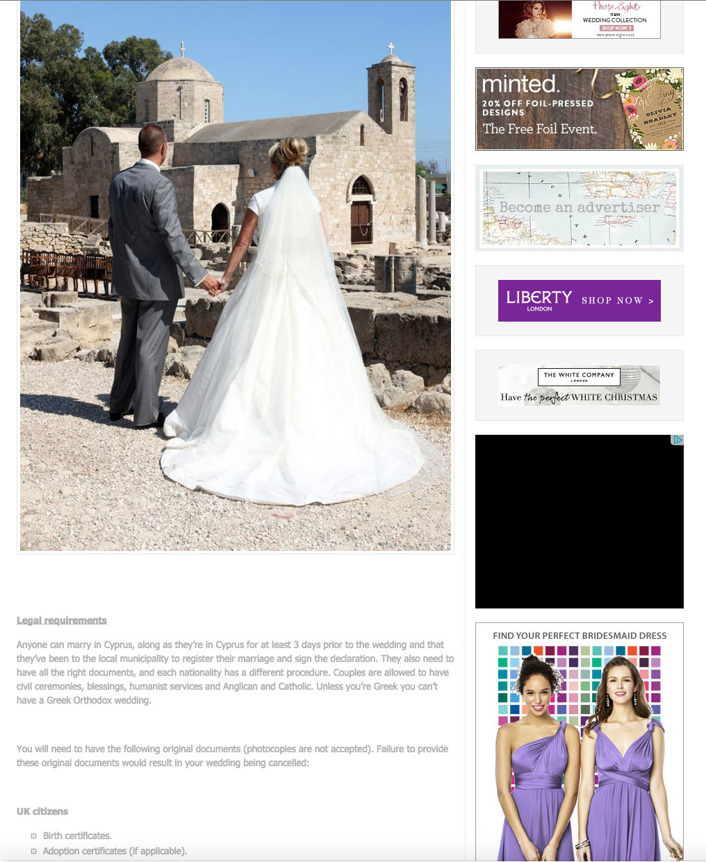 Cyprus Wedding Guide