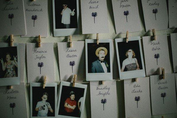 Poloroid Wedding photos