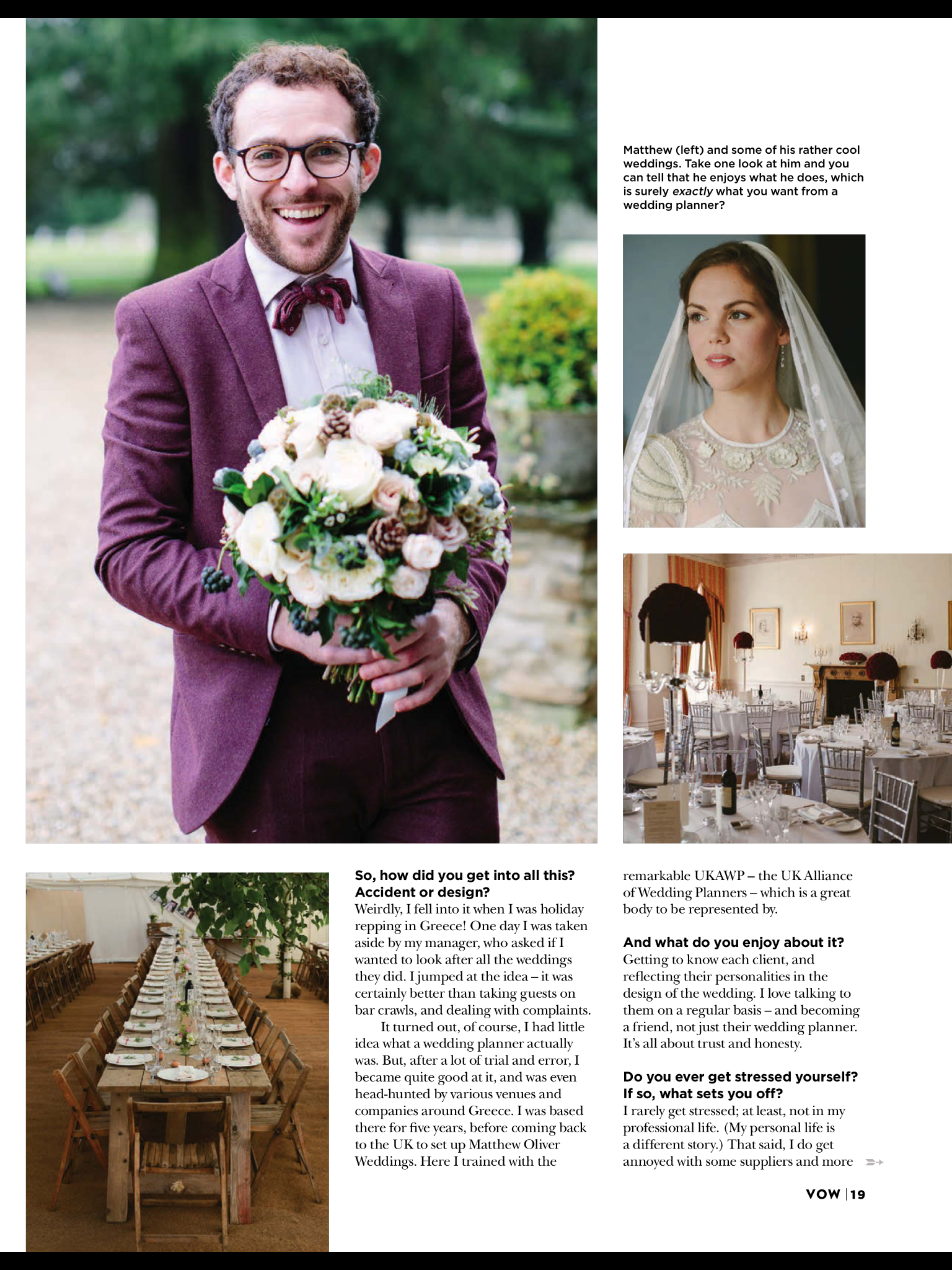 Matthew Oliver Wedding Planner