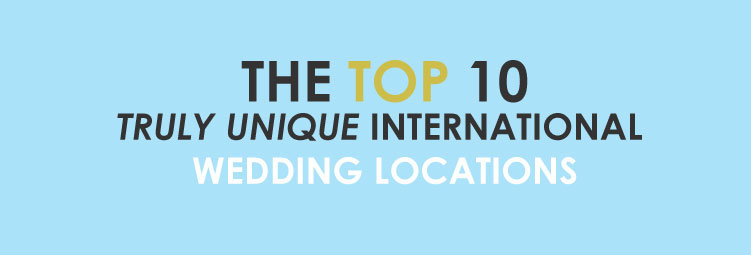 Tope International Wedding Desitnations Infographic