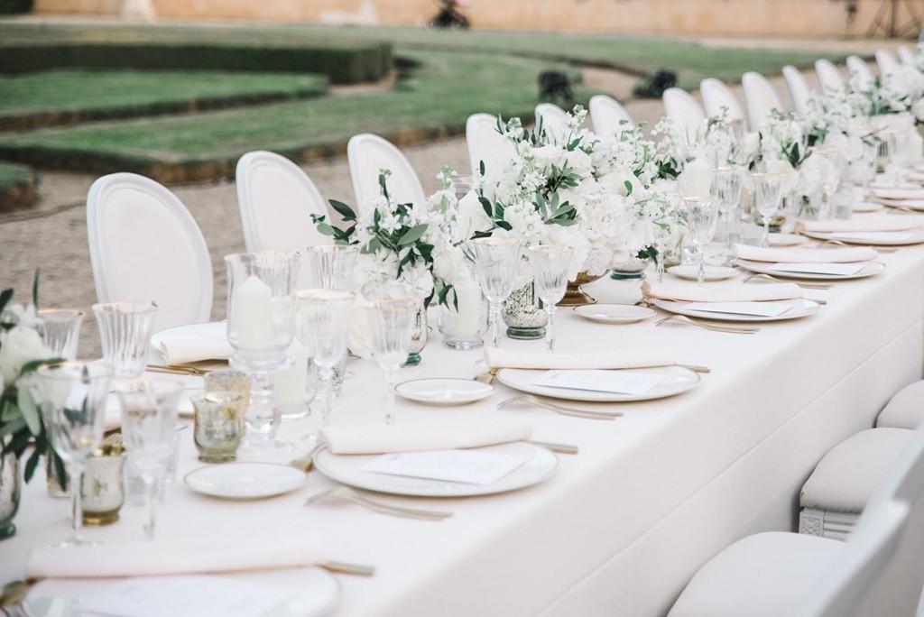 International Wedding Planner – table 1