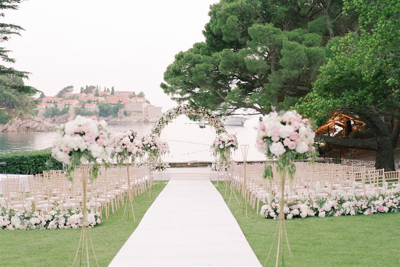 Aman Sveti Stefan Wedding Ceremony